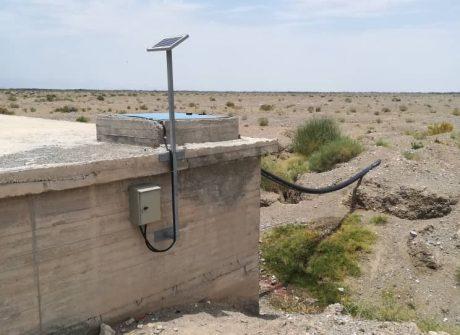 نصب و اجرای پروژه کنترل مبتنی بر GSM سطح مخازن و الکترو پمپ های آبرسانی